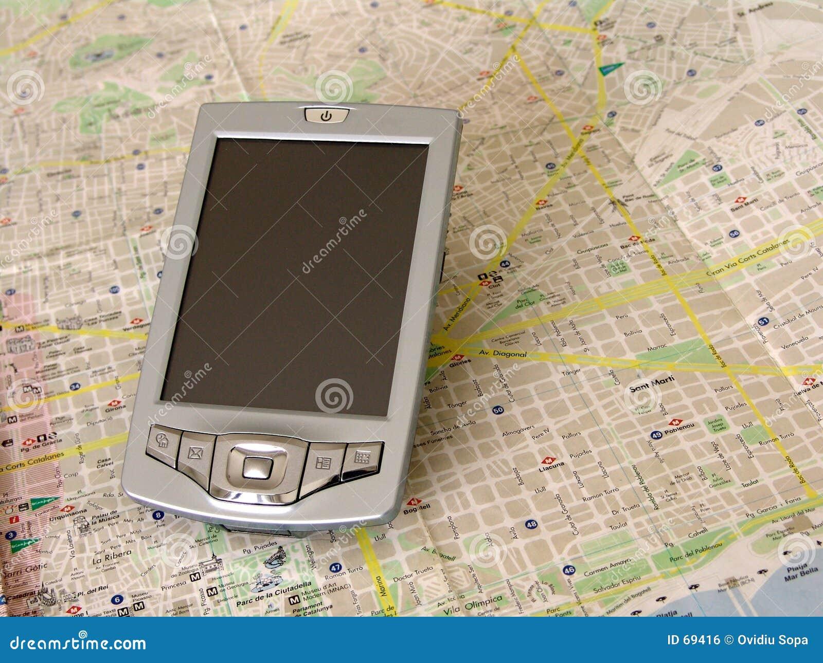 PC do bolso - palma GPS
