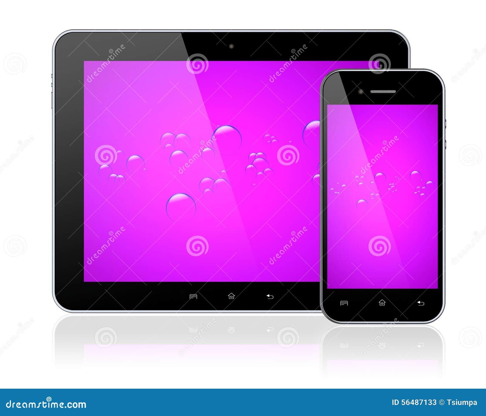 PC et Smartphone de comprimé