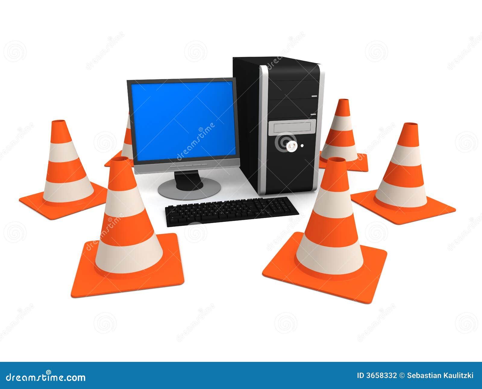 PC- und Verkehrskegel