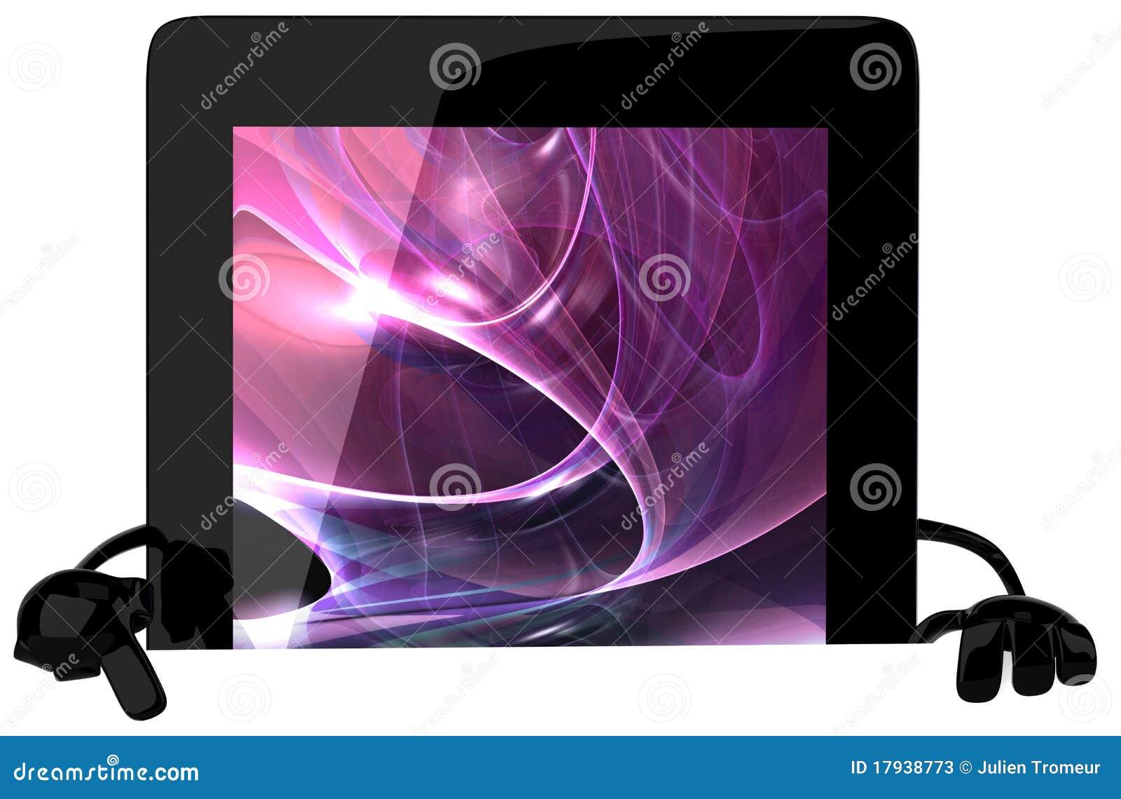 PC van de tablet