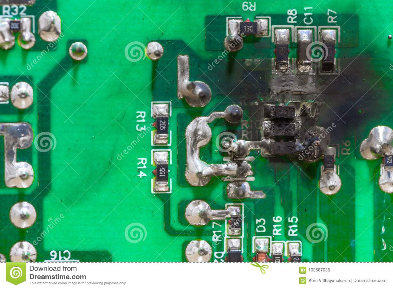 Computer Electrical Short Not Lossing Wiring Diagram Photos Pcb Circuits Computers Components Technology Image Circuit Board Electricity Stock Of Rh Dreamstime Com Blank Circut