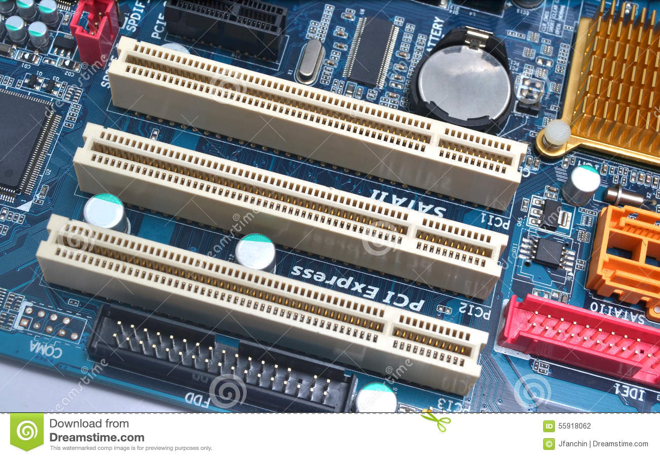 types of pci slots