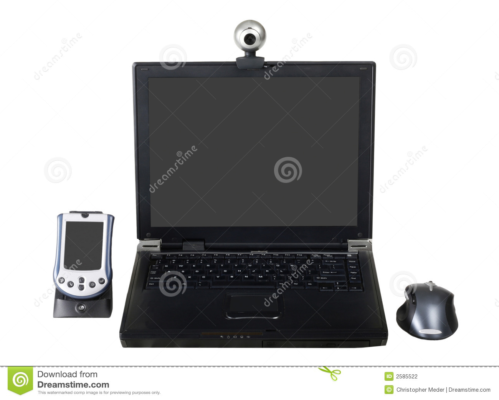 PDA en Laptop