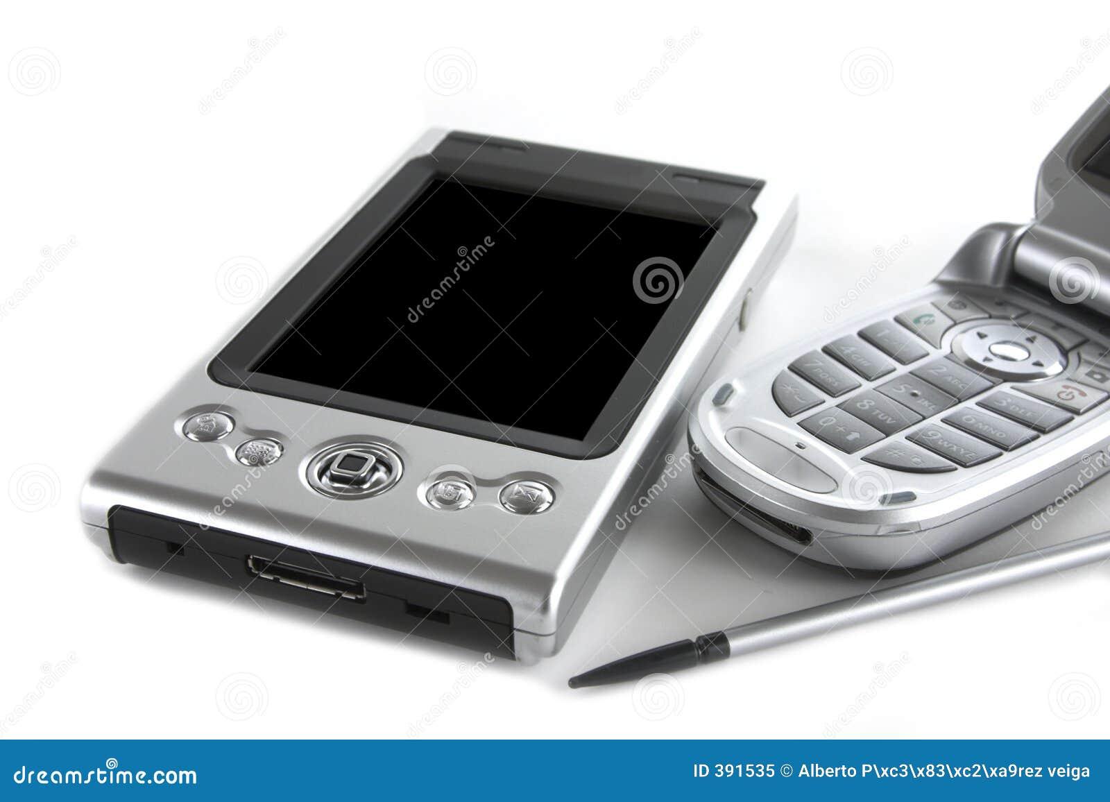 PDA et téléphone portable