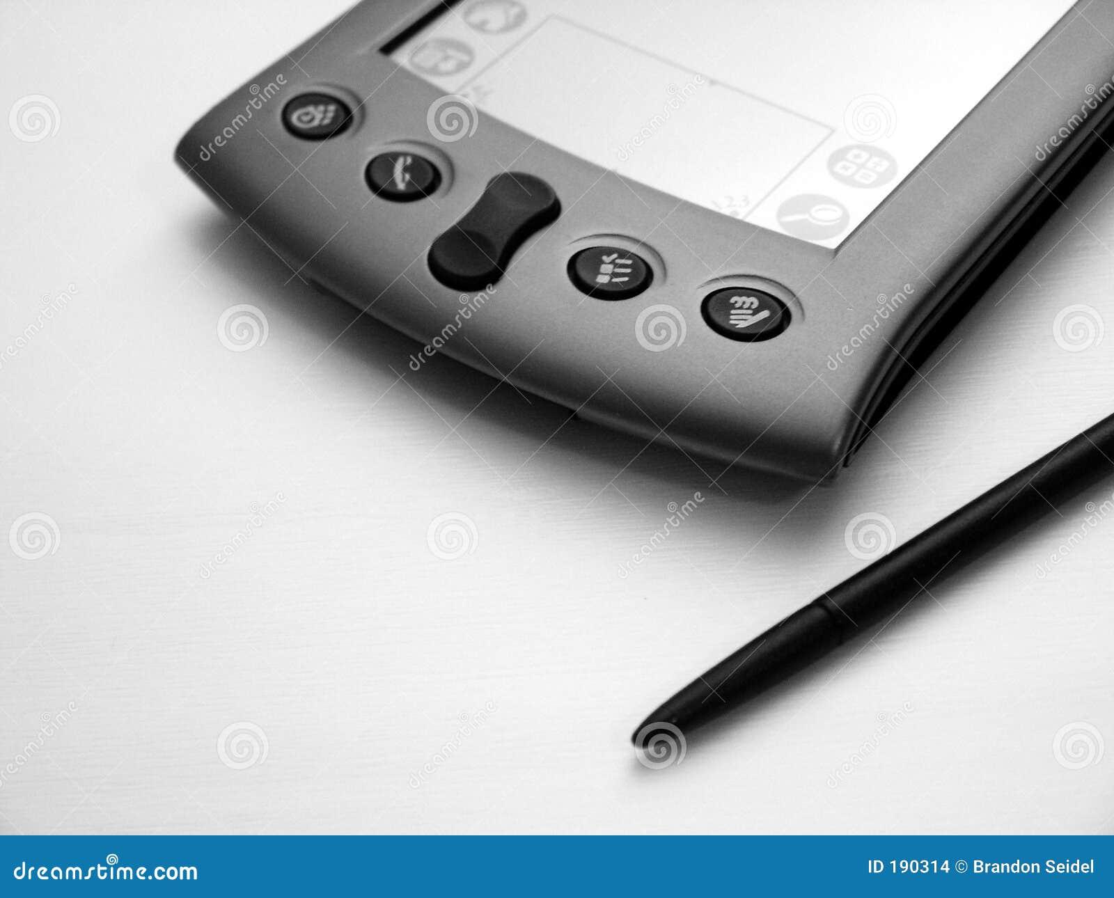 PDA negro y blanco