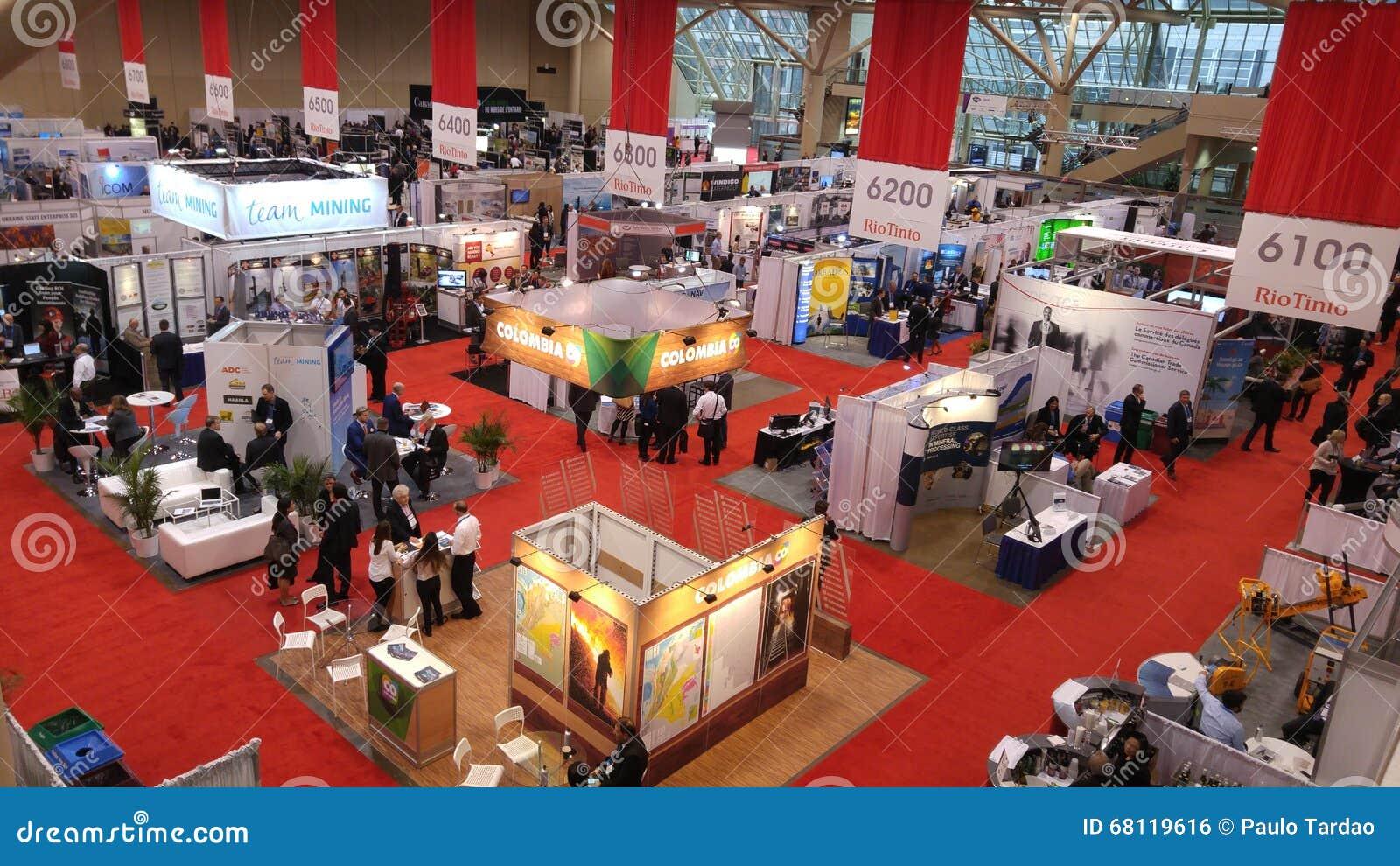2016 PDAC Międzynarodowa konwencja i wystawa handlowa przy Toronto metra konwencją Centr