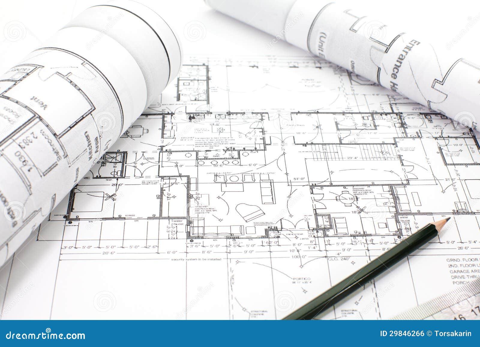 Parte do projeto arquitectónico