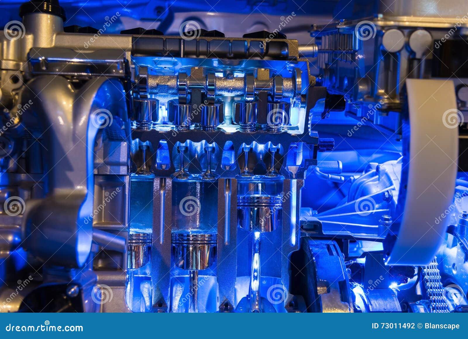 Peça do motor de automóveis híbrido
