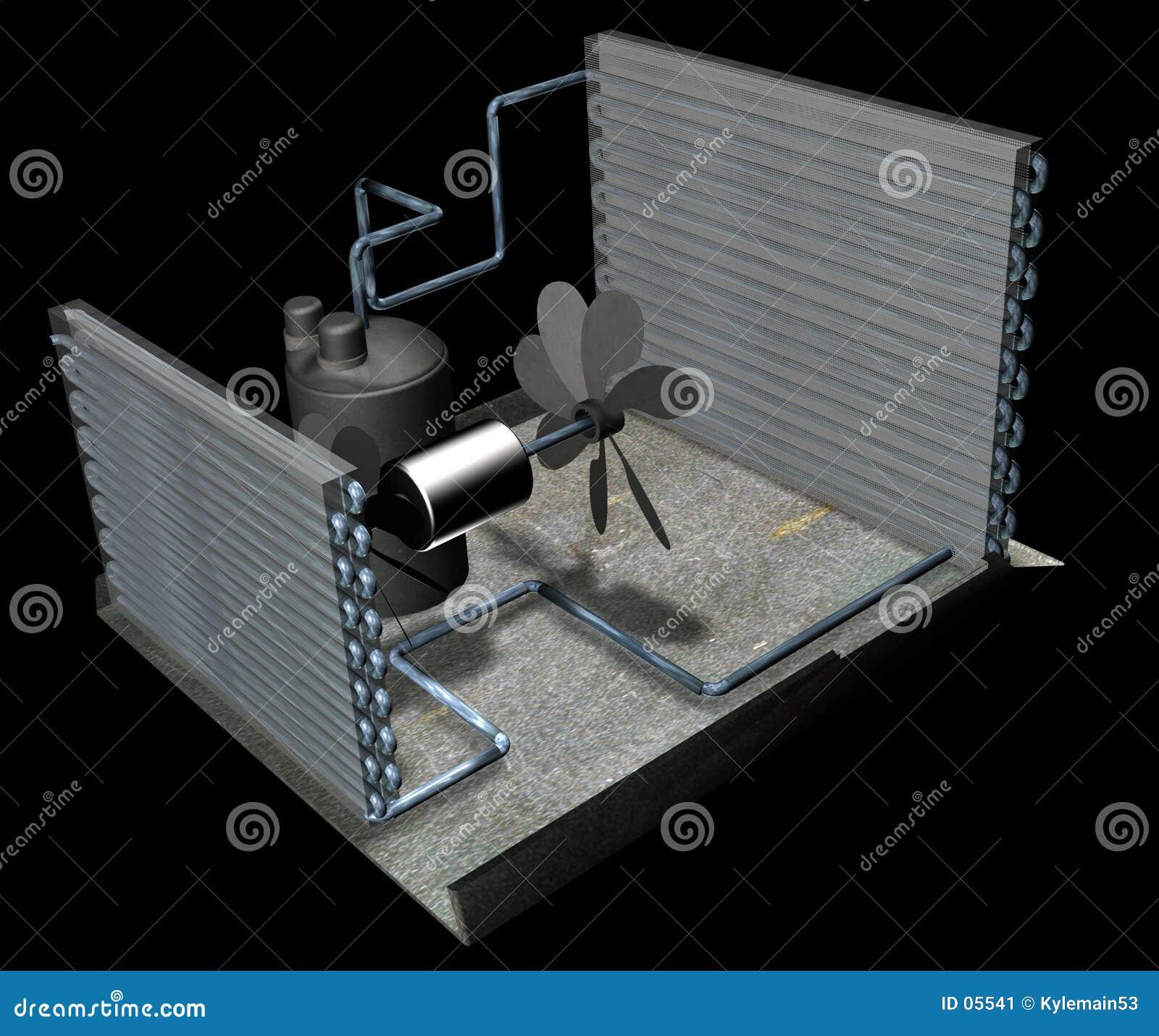 Peças do condicionador de ar
