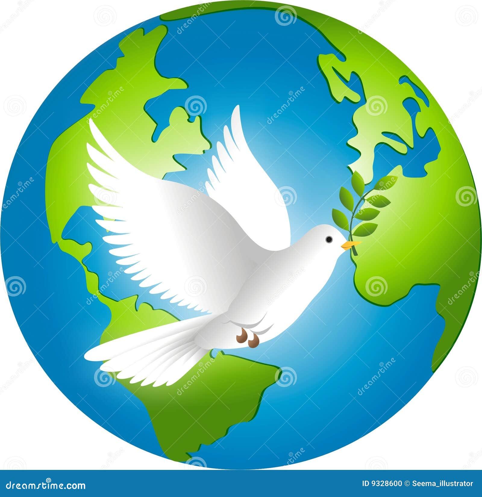 Peace On Earth Stock Illustration Illustration Of Symbol 9328600