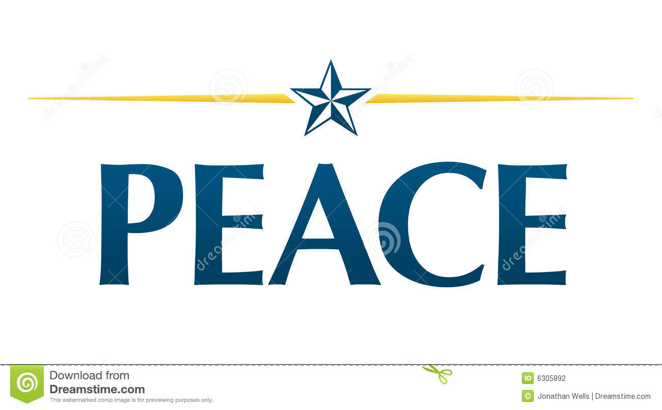 Peace Logo Stock Photography Image 6305892