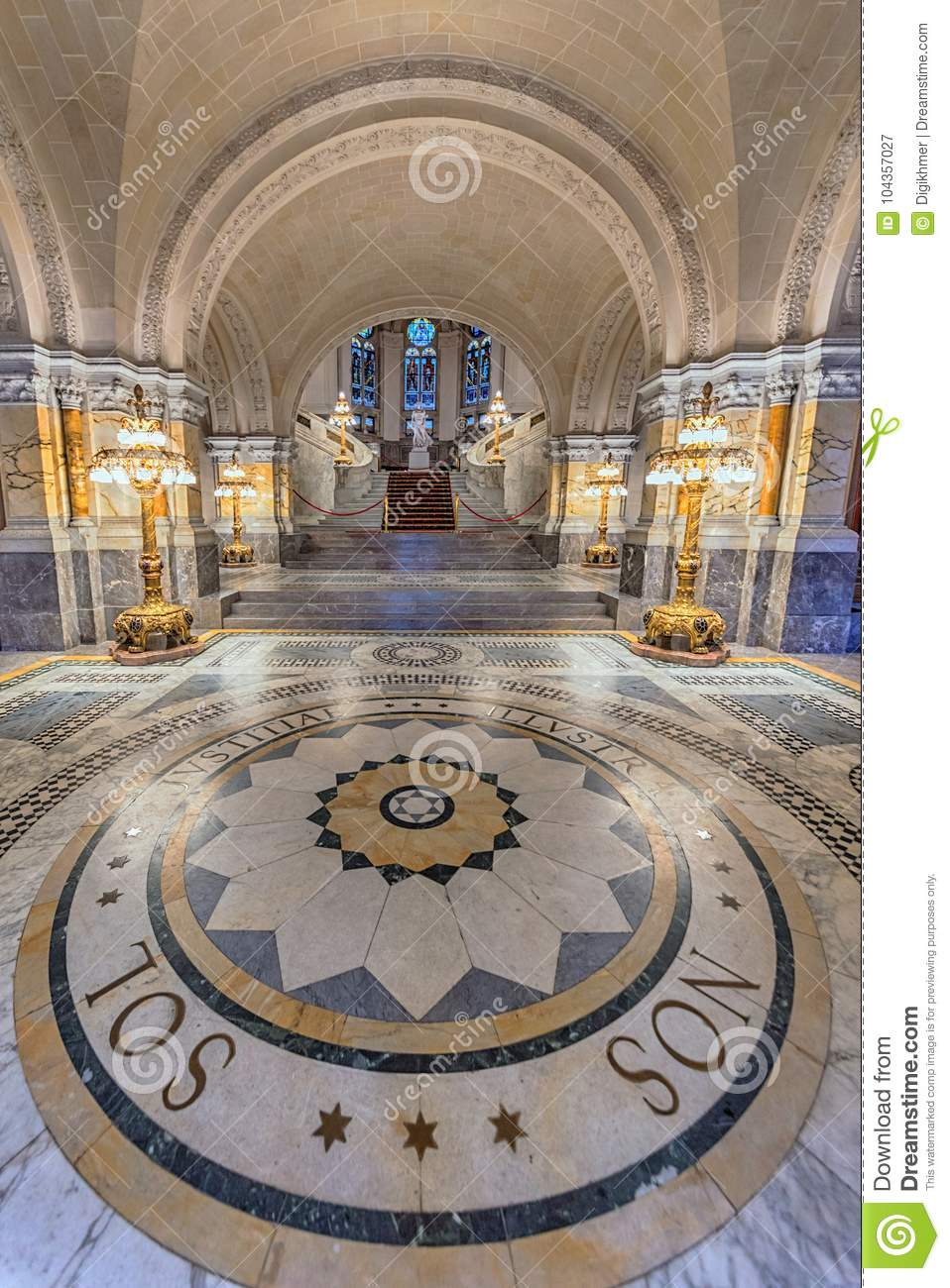 Excellent Peace Palace Staircase Stock Image Image Of Christian Home Interior And Landscaping Ponolsignezvosmurscom
