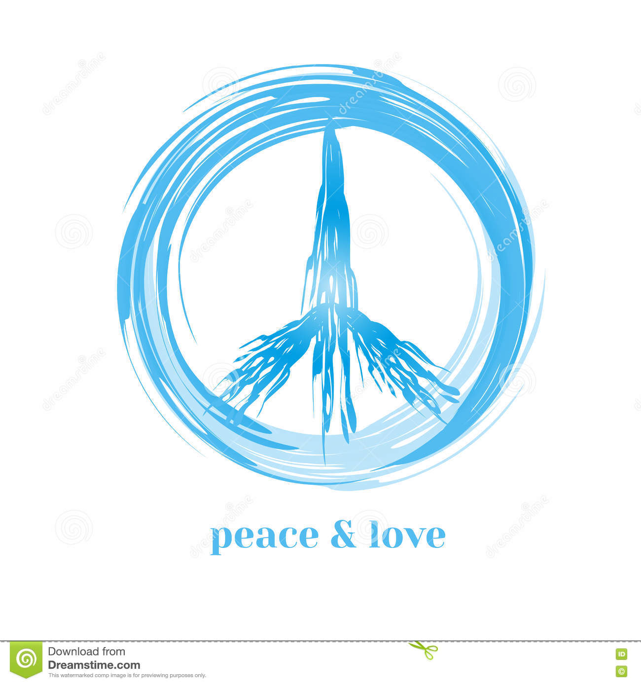 Peace symbol concept stock vector illustration of placard 79690135 peace symbol concept biocorpaavc
