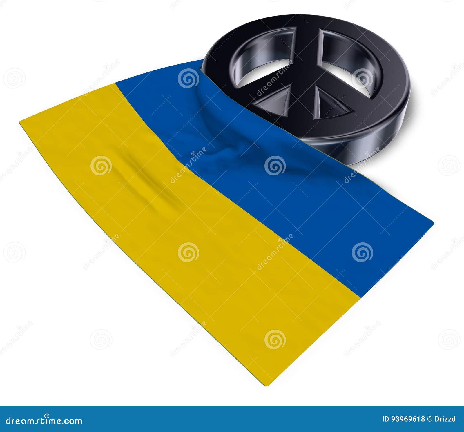 Peace symbol and flag of ukraine stock illustration illustration peace symbol and flag of ukraine biocorpaavc