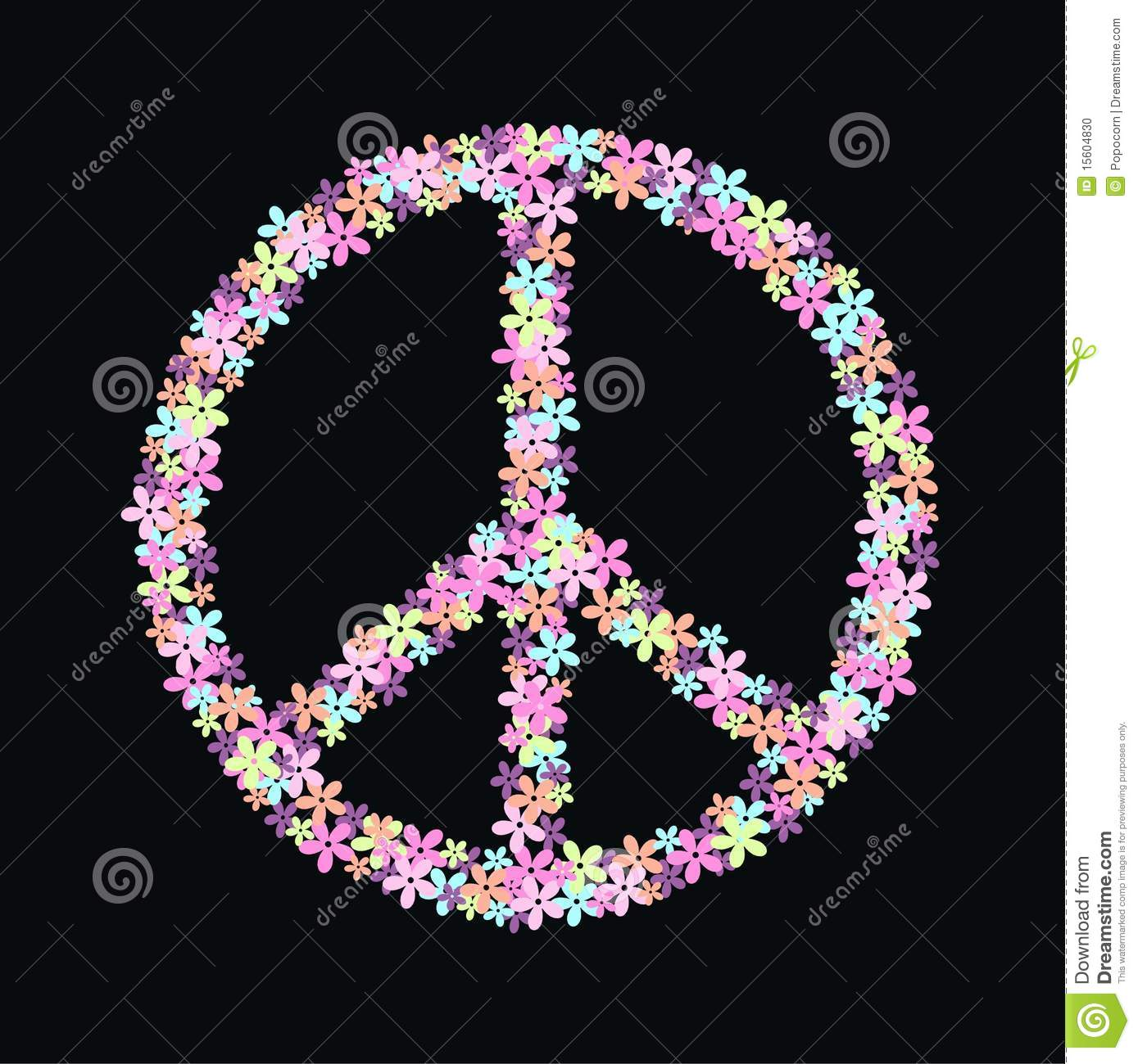 peace symbol of flowers stock photo image 15604830 leopard clip art free leopard clipart pattern