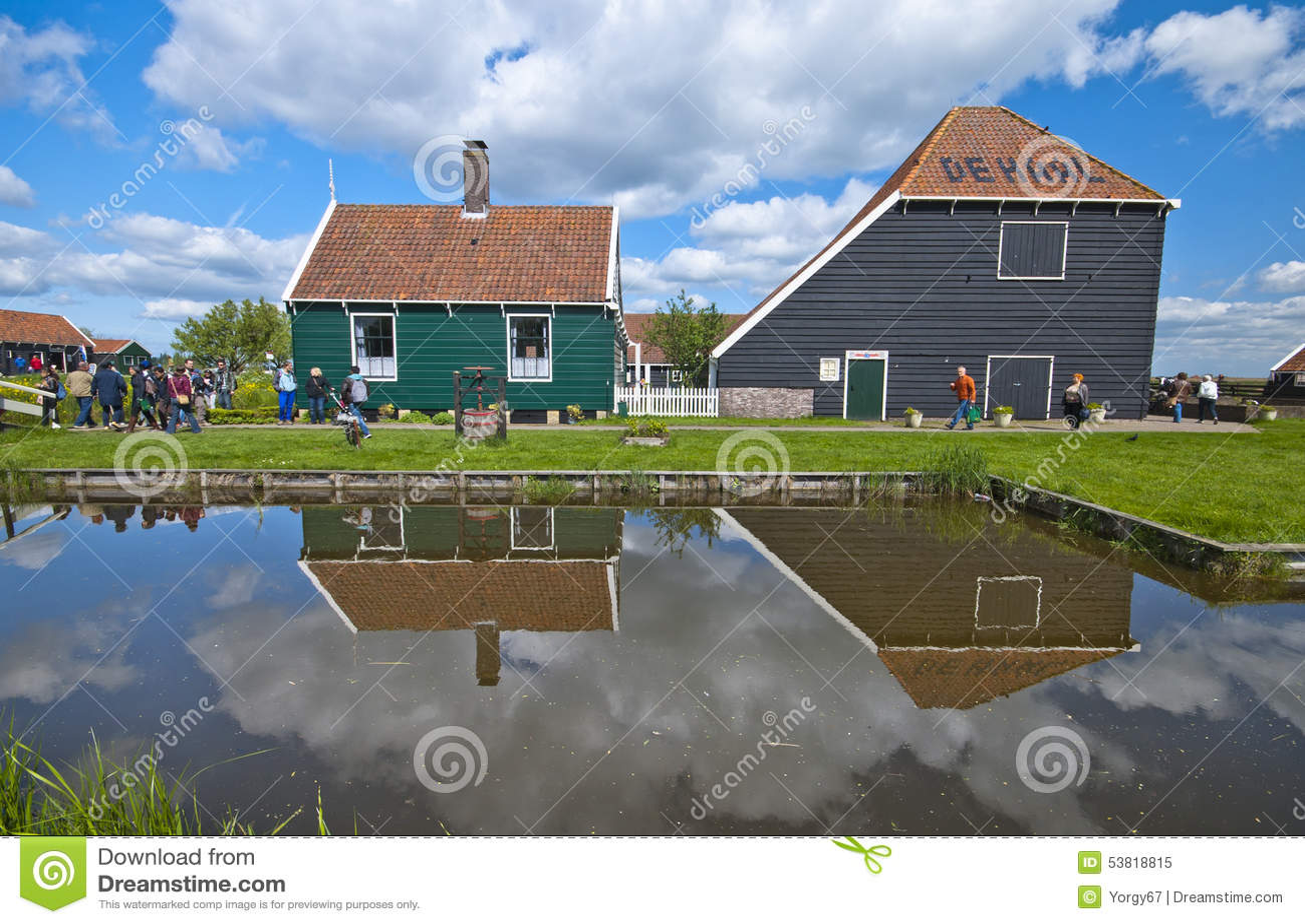 Peaceful Holland Countryside