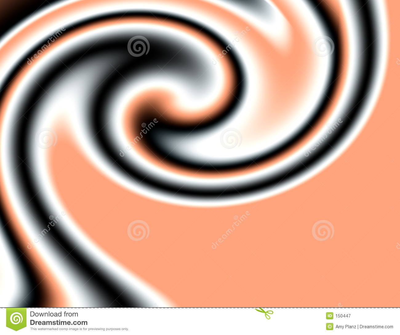 peach and black swirl stock illustration illustration of swirl 150447 https www dreamstime com royalty free stock photography peach black swirl image150447