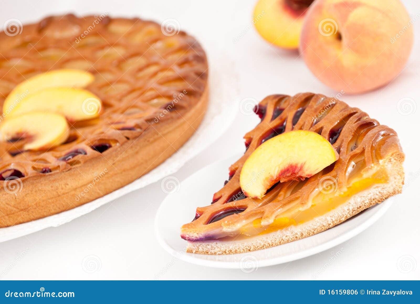 Peach-cherry Pie Royalty Free Stock Image - Image: 16159806