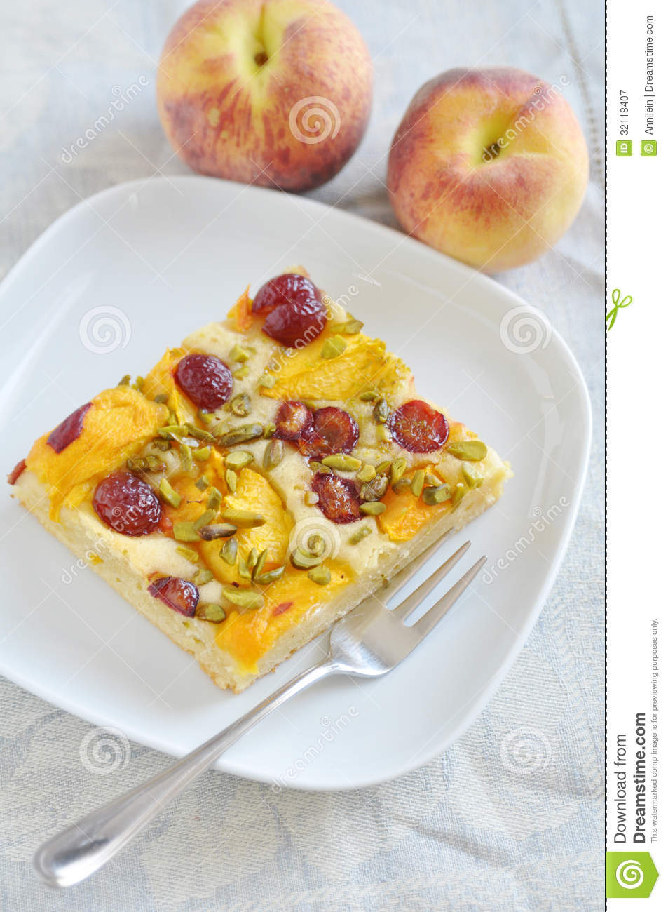 Peach Cherry Pie Royalty Free Stock Photography - Image ...