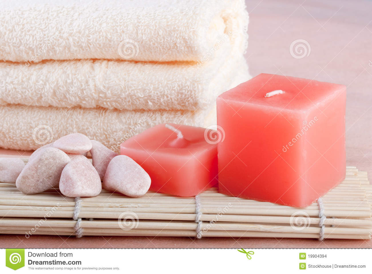 Peach color spa setting stock images image 19904394 for Act ii salon salem nh