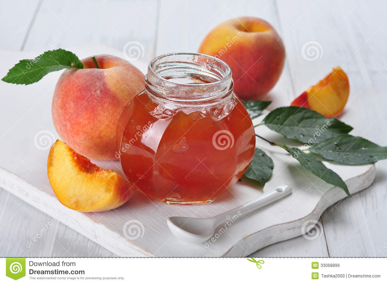 Peach Jam Royalty Free Stock Images - Image: 33068899