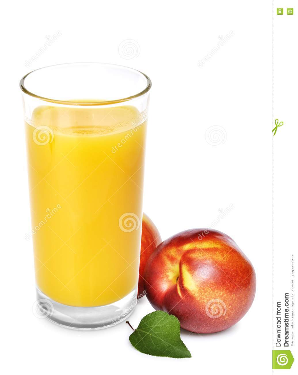 Peach Juice Royalty Free Stock Photo - Image: 20836595