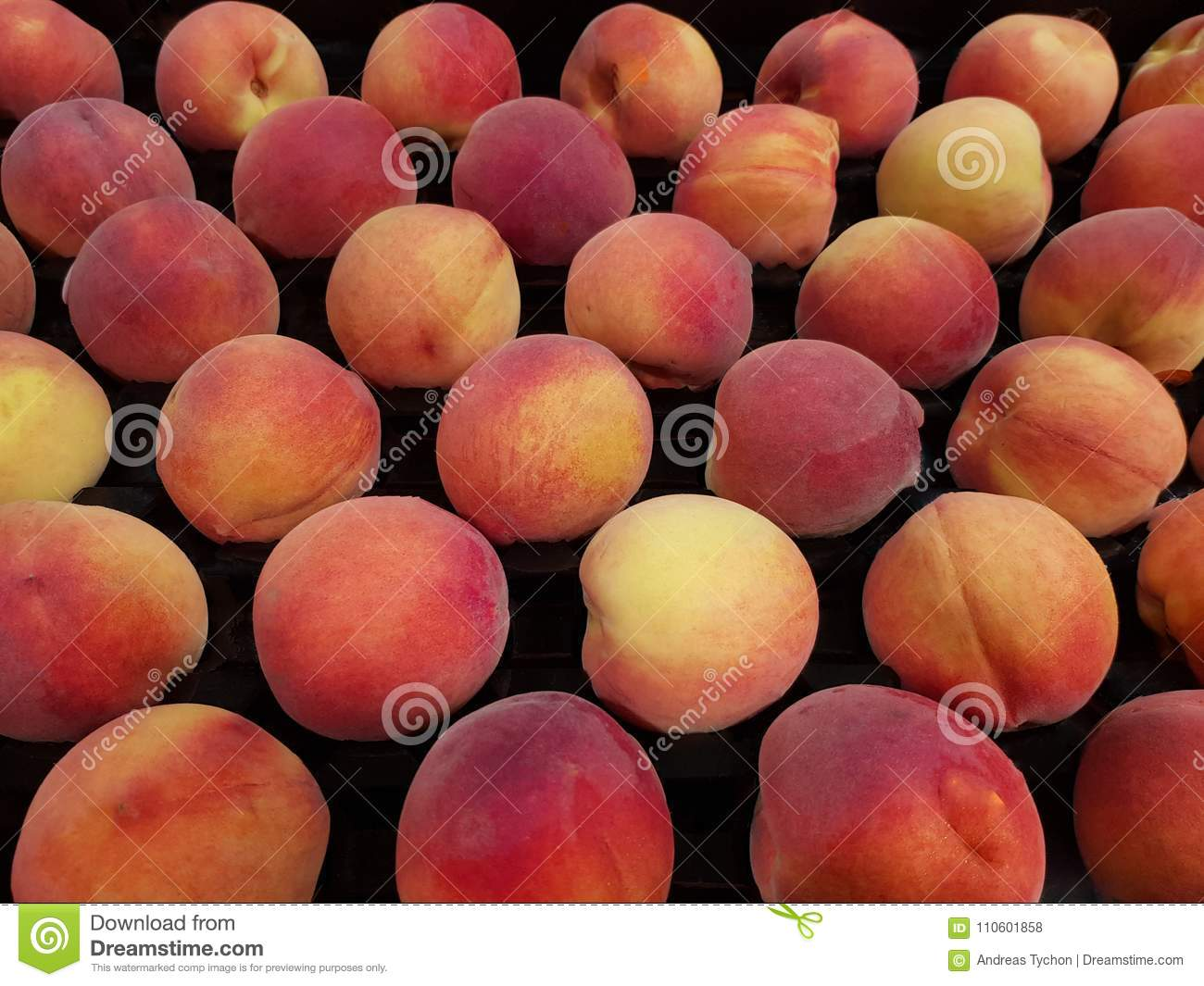 peaches on a black background stock photo image of ingredient fuzzy 110601858 dreamstime com