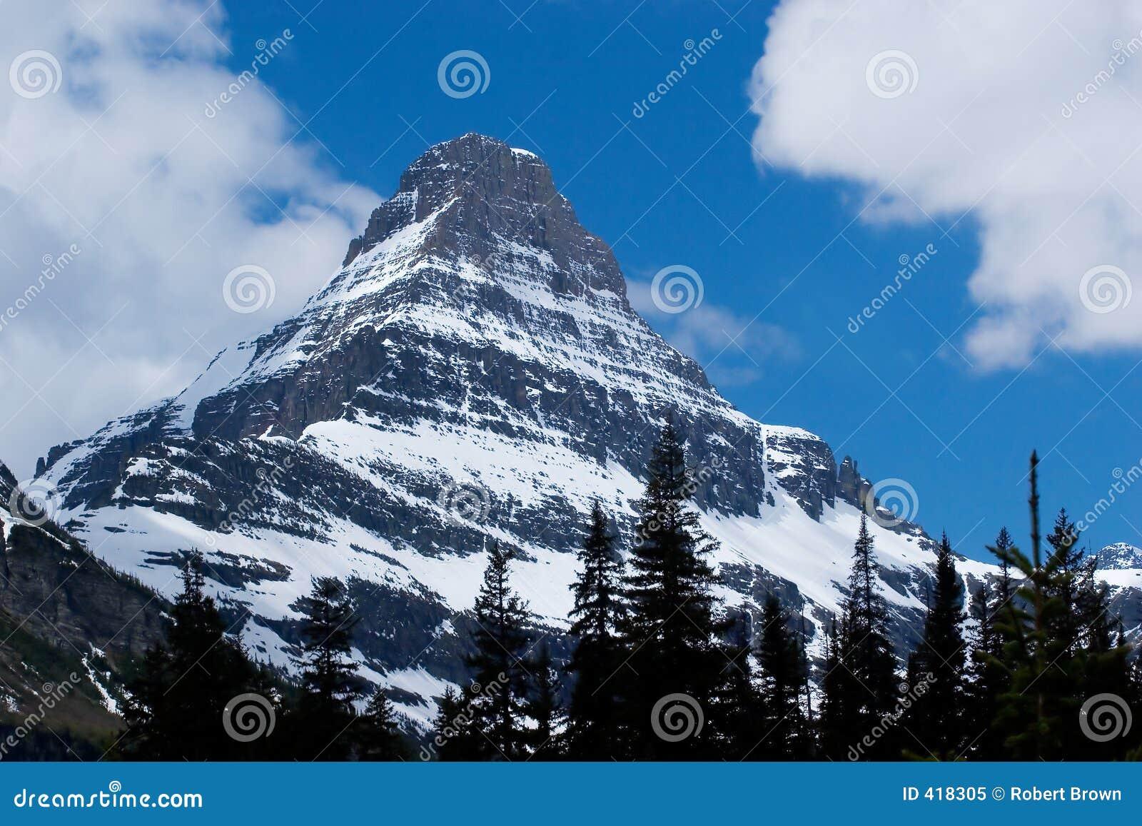 Peak, Glacier National Park
