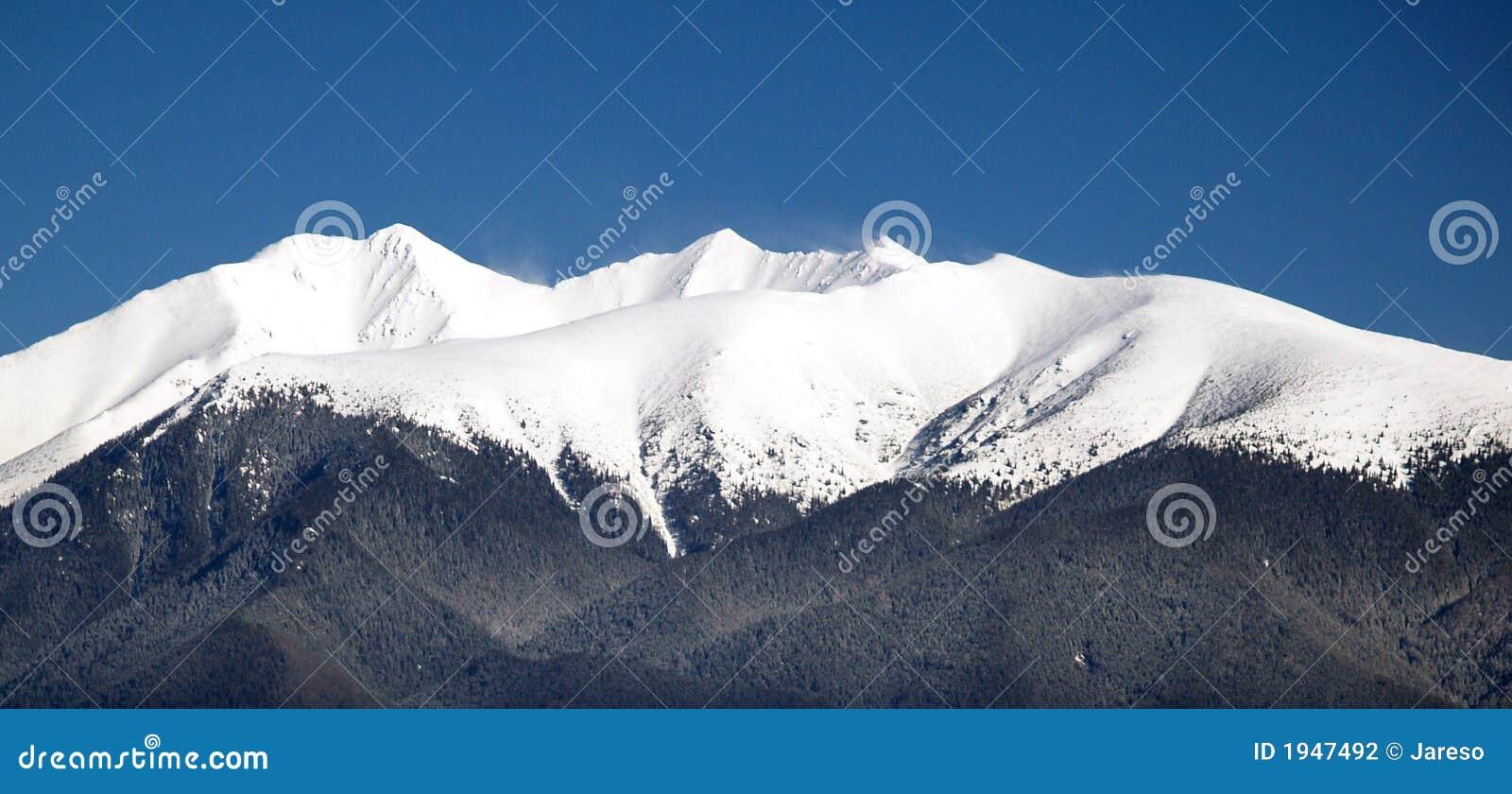 Peak of Rohace mountain