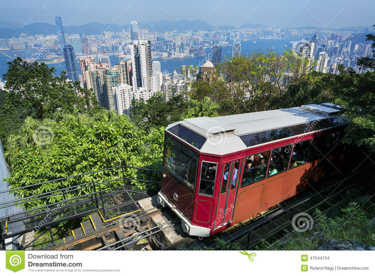 `Peak Tram` Hong Kong