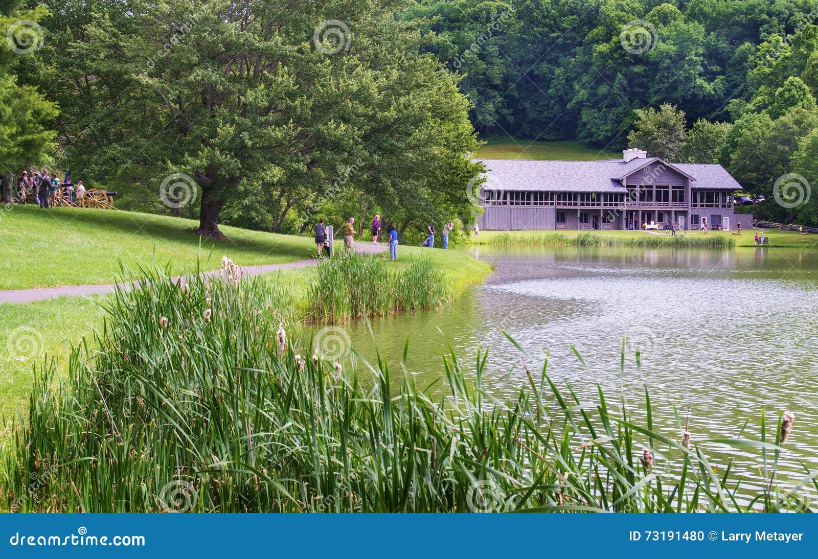 Peaks Of Otter Lodge – Blue Ridge Parkway, Virginia, USA Editorial