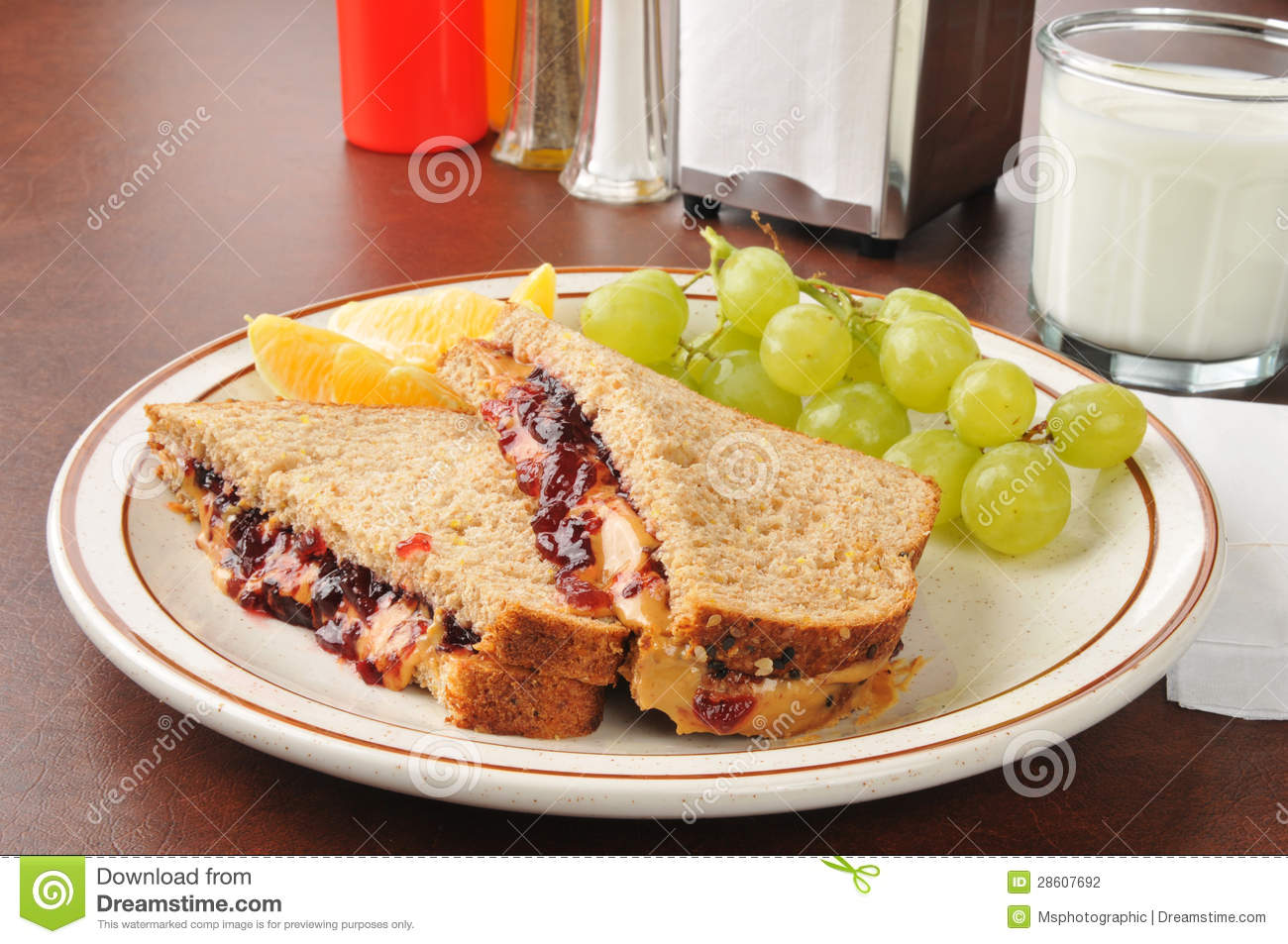 Peanut Butter Jelly Time Clipart