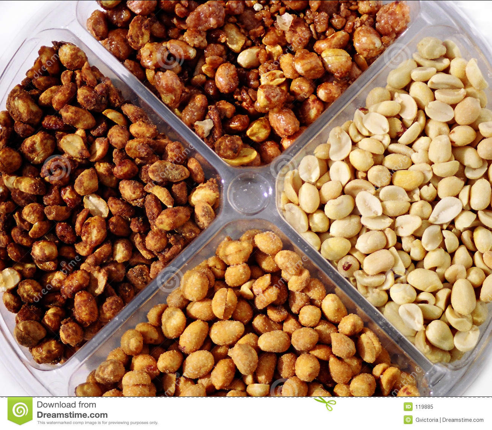 Peanut platter