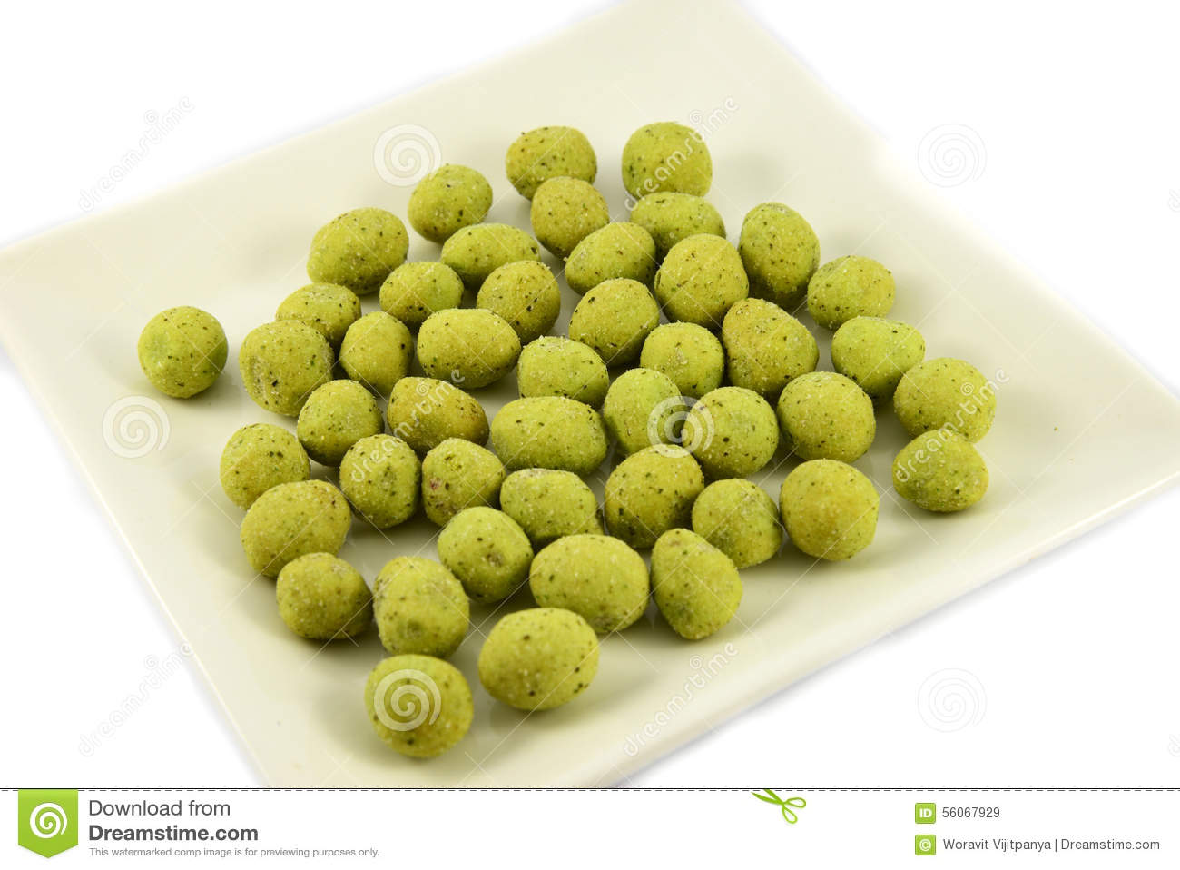 how to make wasabi peanuts