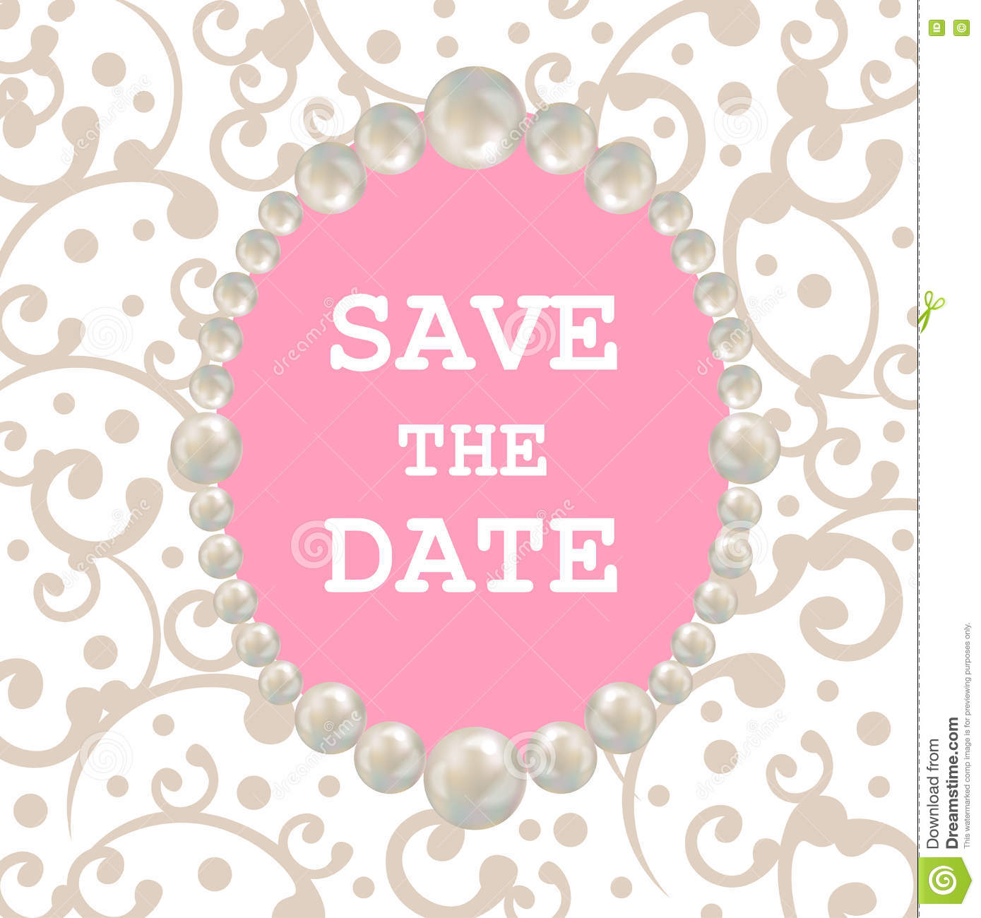 Template Event Flyer Or Save The Date Card Photo Image – Event Card Template