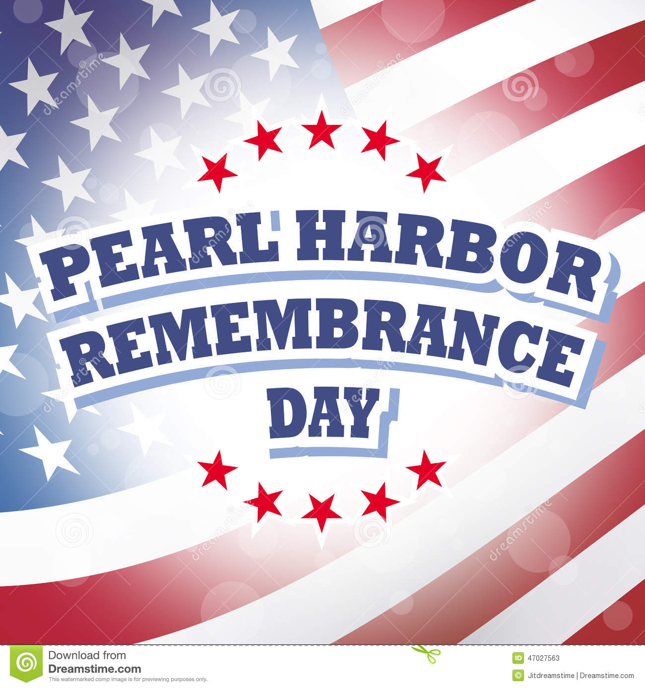 Pearl (MS) United States  city pictures gallery : Pearl harbor remembrance day america flag banner background.