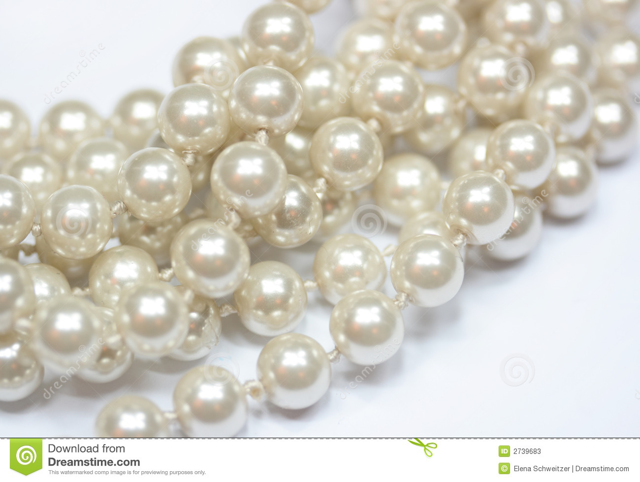 Pearls Background Stock Photos - Image: 2739683