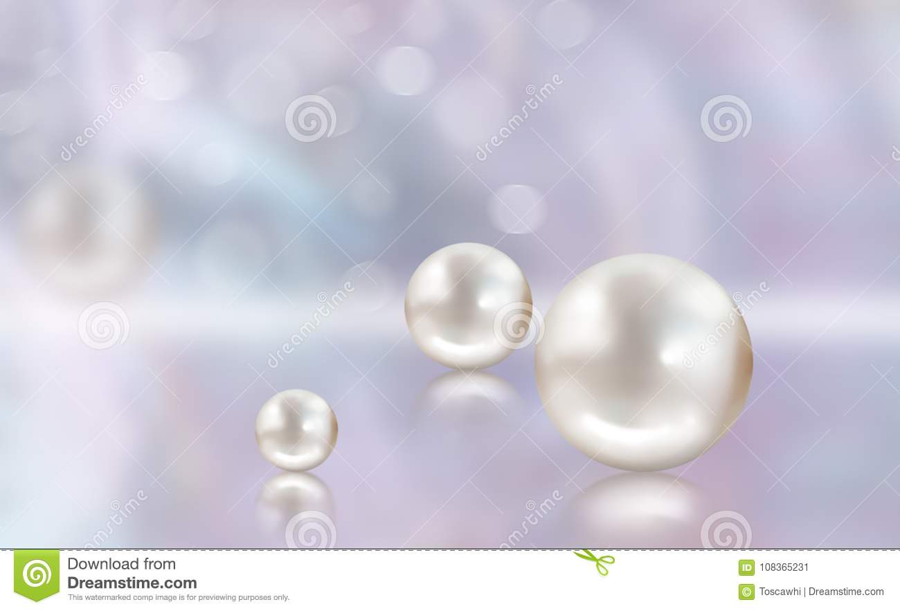 background mauve reflections reflection wedding mother pearl illustrated abstract pearls d stock appearance of on with natural illustration aqua
