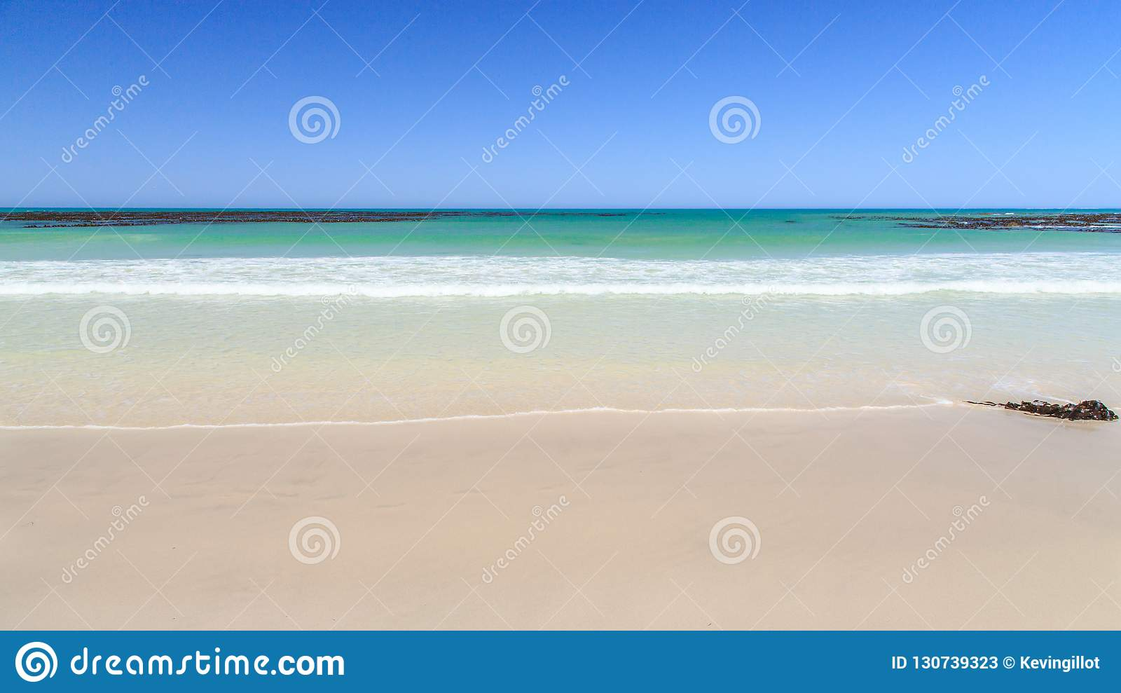 Deserted beach - Pearly beach - South Africa