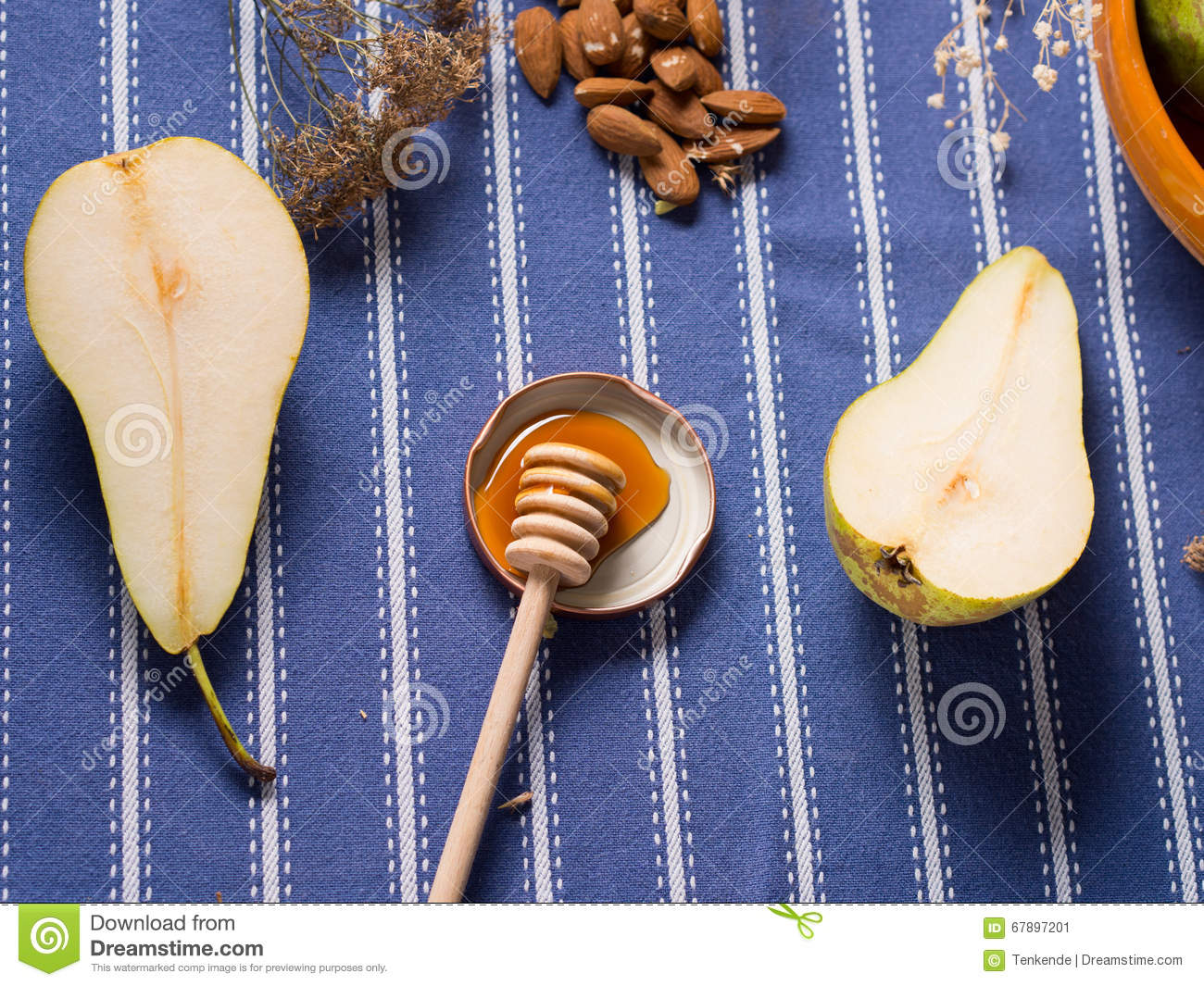 Pears and honey
