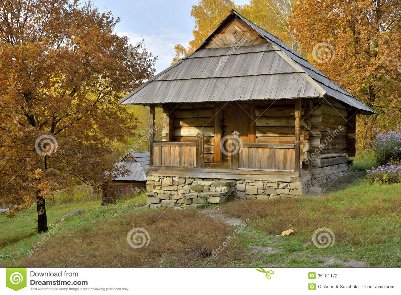 Peasant House Stock Photography Image 35181172