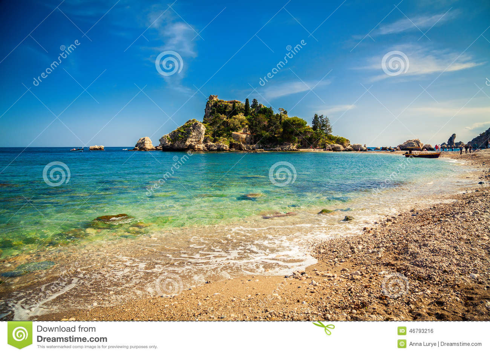 Pebble Beach Isola Bella in Taormina