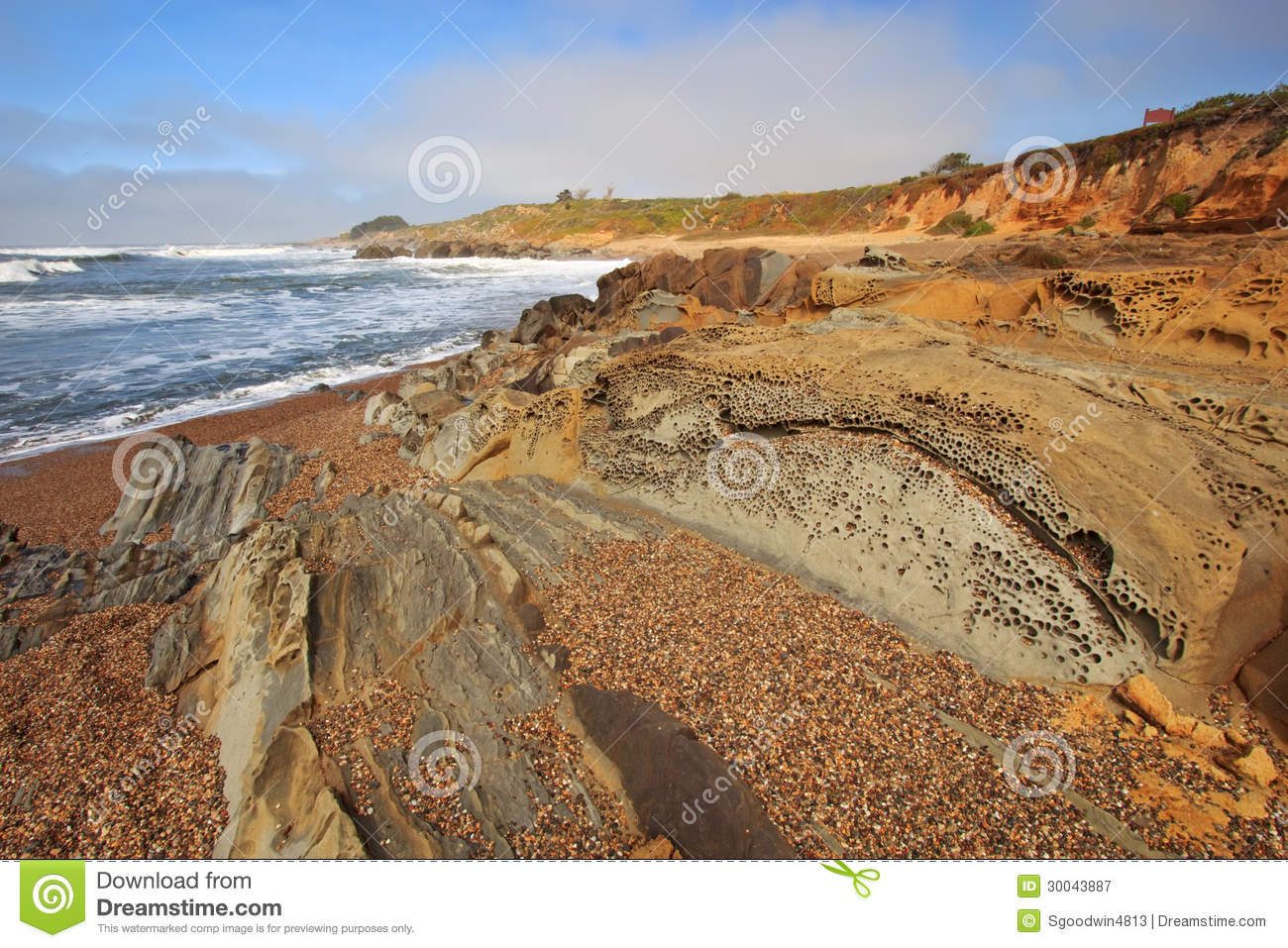 an overview of the beach formation in california coast Geology at point reyes national seashore and vicinity,  san andreas fault zone and the north coast of california  formation) rest directly on.