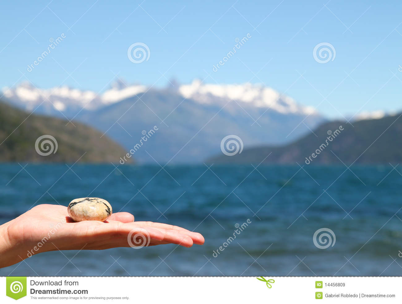 Pebble in the hand