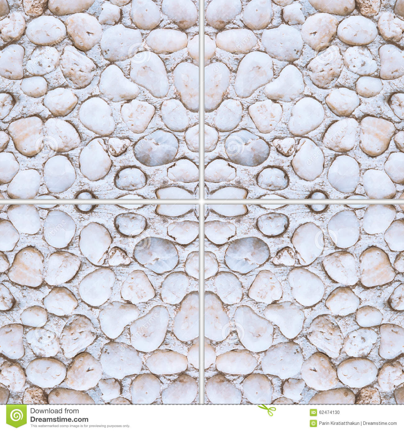 Background Floor Pebble Rock Round Stone Texture Tile ...