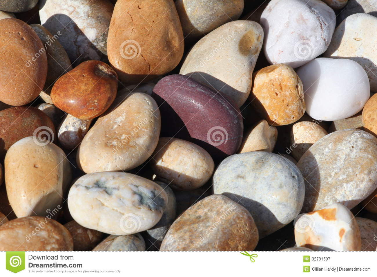 Pebbles stock image. Image of beach, background, colors - 32791597