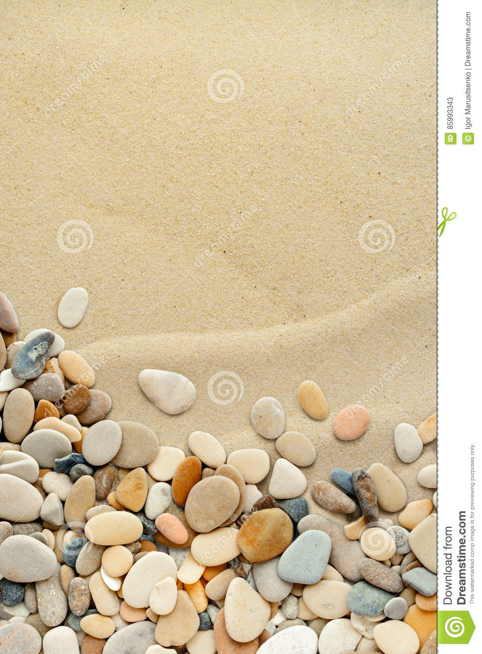 Smooth shaped white stones surface texture background stock photo - Pebbles Texture Border On White Background