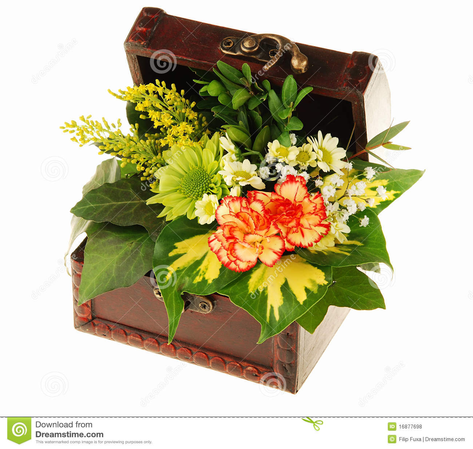 Pecho de flores