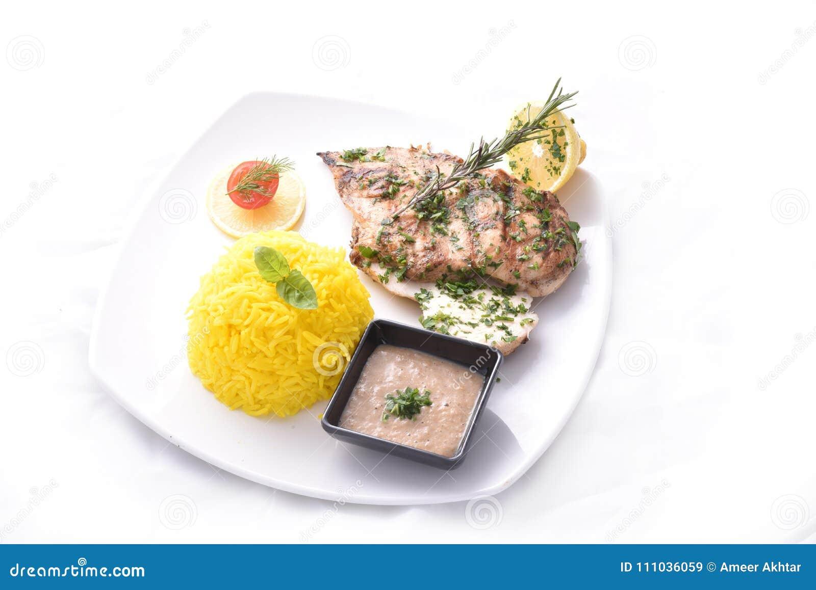 arroz y pollo dieta