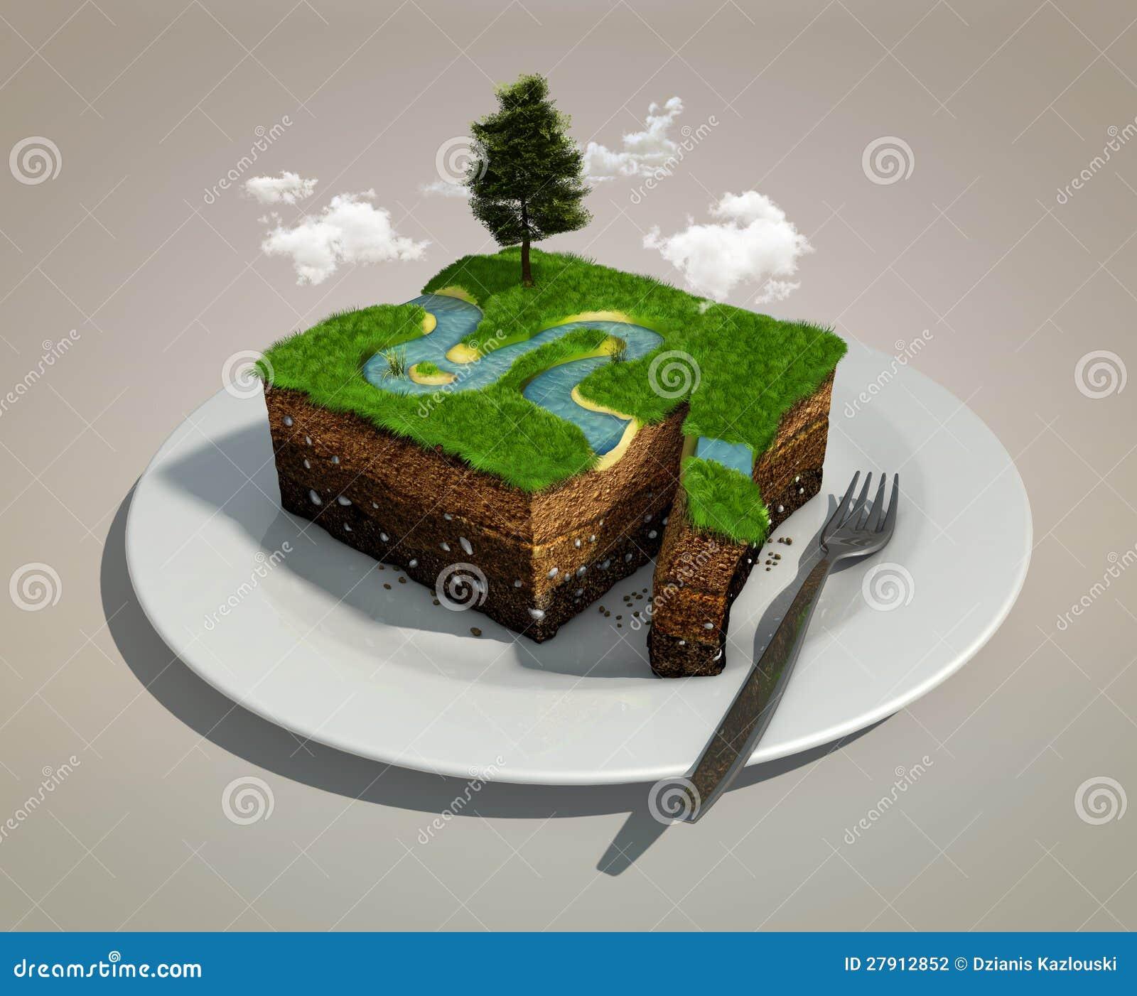 Pedaço de terra
